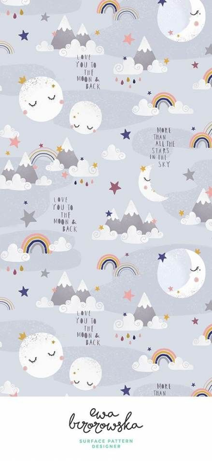 44 Ideas For Baby Wallpaper Pattern Design Baby Design Ilustrasi Ilustrasi Karakter Lukisan Wajah