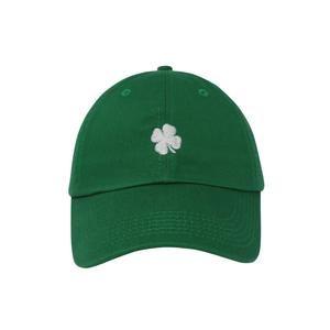 Snapback Four Clover Embroidery Cotton Baseball Cap for Men Women Snapback Caps