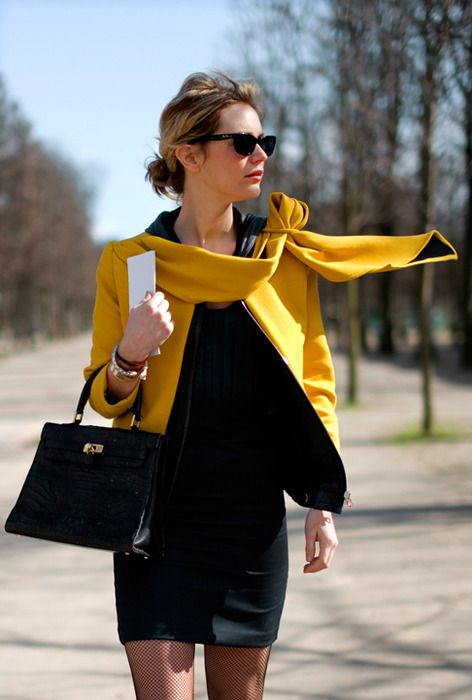 Bold in black and yellow.