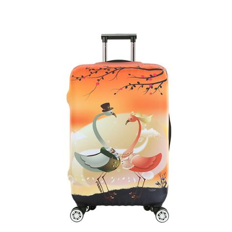 Giraffe Travel Luggage Protector Suitcase Cover 18-32 Inch for Travel Luggage Protective Suitcase Covers