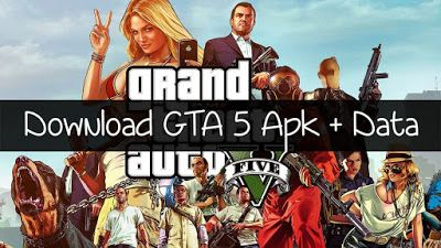 Gta 5 Grand Theft Auto V Real Apk Obb Data On Android Gameplay