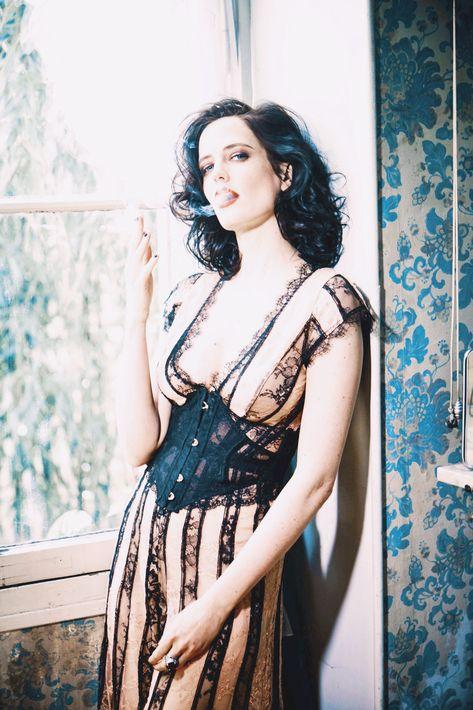 "xavierlightwood: "" Eva Green is photographed by Ellen von Unwerth for Glamour Italy """