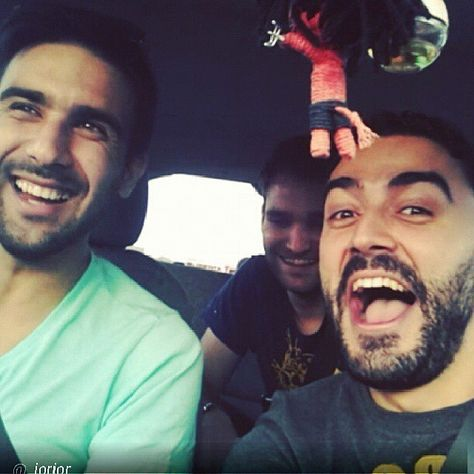 "@Blabla Car's photo: ""These guys are having an awesome time! @_jorjor #regram #rideshare #roadtrip #BlaBlaRide"""