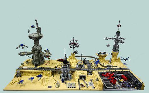 lego Micro planetscape