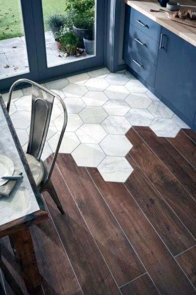 Top 50 Best Kitchen Floor Tile Ideas Flooring Designs Modern Kitchen Flooring Wood Tile Floors Flooring