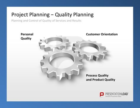 Project Management PowerPoint Templates Planning and control of - project planning