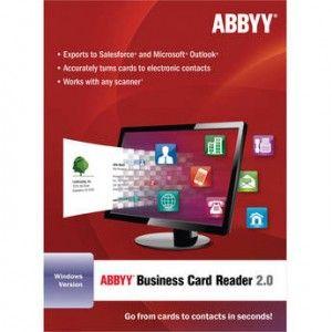 Abbyy Business Card Reader 2 0 Light 11 0 113 153 Abbyy Business Card Reader 2 Otomatik Kartvizit Verilerini Sayisallastirma Iletisim Ve Kartvizitler Iletisim