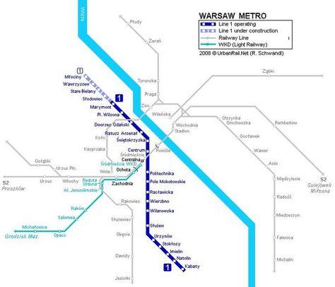 Santo Domingo Metro Map.Nice Poland Metro Map Travelquaz Map Warsaw Metro Warsaw