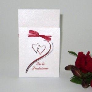 Taschentuchtasche Harmonie Rot Kartencrew De Tuch Taschen Rot