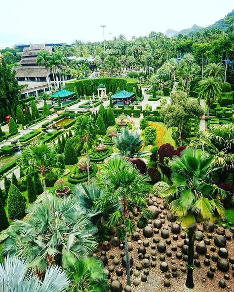 Nong Nooch Tropical Botanical Garden, Thailand. Nong Nooch garden is the strongest proof that landscaping plays a hugely important part in making a garden ...