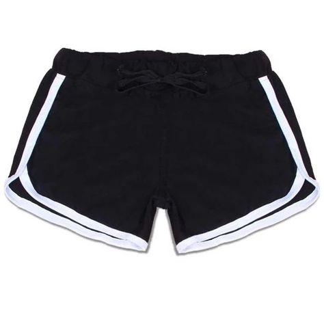 women's elastic waist shorts with pockets