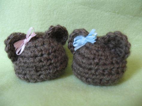 Micro preemie Baby Bear Hat Pattern - Calvin's Hats