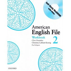 American English File 2 Workbook American Ingleses English File