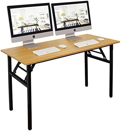 Shop For Dlandhome 55 Inches Folding Table Computer Desk Portable