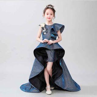فساتين سواريه اطفال تفصيلات فساتين سواريه بناتي جديدة 2021 Girls Ball Gown Dresses Girls Formal Dresses Girls Ball Gown