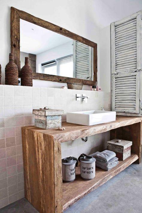 Ein Bad Wie Im Freien Mediterrane Badezimmer Von Raphaeldesign Mediterran Shabby Chic Badezimmer Bad Styling Und Badezimmer Renovieren