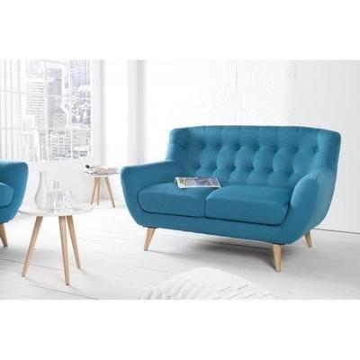 Chesterfield 2er Canape Bleu De La Maison Casa Padrino Meuble Salon Canape Achat Vente Canape Sofa Divan Cdisco Canape Design Canape Canape Tissu