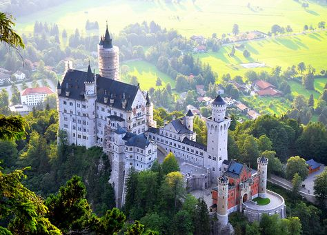 Neuschwanstein, Bavaria, Germany...The most beautiful castle in the world....Want to go back!