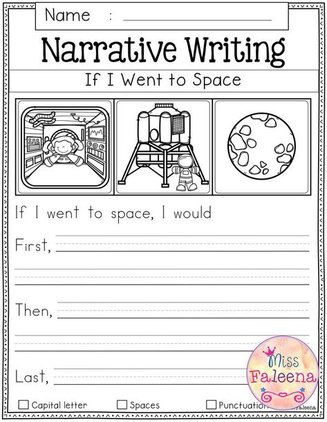 September Writing Prompts contains 60 pages of writing prompts worksheets. This product is suitable for kindergarten and first grade students. Narrative Writing Prompts, Kindergarten Writing Prompts, 1st Grade Writing, Writing Prompts For Kids, Picture Writing Prompts, Writing Lessons, Kids Writing, Teaching Writing, Kindergarten Worksheets