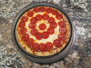 brave dinner bullseye pizza