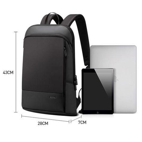 BOPAI Slim Laptop Backpack Men 15.6 inch Office Work Men Backpack Business Bag U