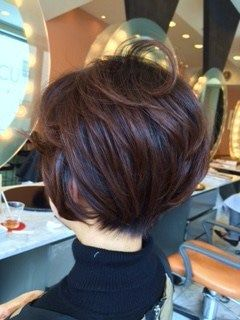 40代 50代 60代ヘアスタイル ショートボブ パーマスタイル パーマスタイル 60代 ヘアスタイル ダウンヘア