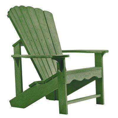 Beachcrest Home Sandiford Plastic Adirondack Chair Color Cactus