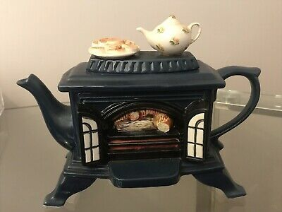 1994 Fireplace Teapot By Teapottery 70 00 In 2020 Tea Pots
