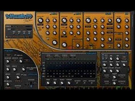 Rob papen subboombass presets, synth bass presets, midi files.