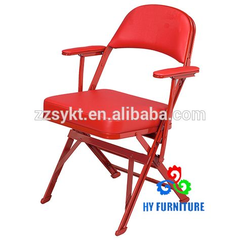 Padded Folding Chairs With Armrests