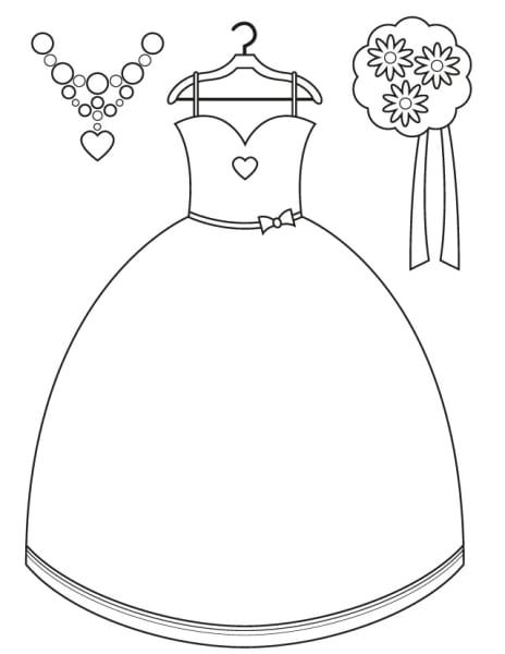 17 Wedding Coloring Pages For Kids Who Love To Dream About Their Big Day Wedding Coloring Pages Kids Wedding Activities Wedding With Kids