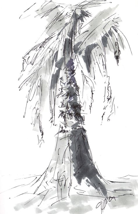 Palm Pen  Sketch