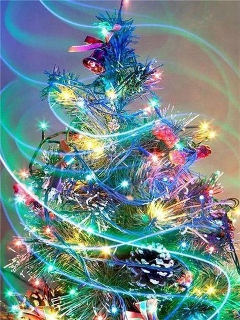 5d Diy Cross Stitch Diamond Painting Kits Christmas Tree NA0410