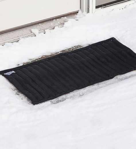 Reusable Saltnets Snow And Ice Melting Mat Keep Steps And   Outdoor Stair Treads For Ice And Snow   Heated   Mat   Cool Inventions   Non Slip Mats   Heattrak