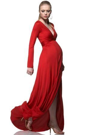 stylish maternity evening wear