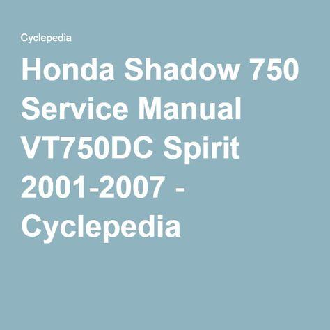 Honda shadow vt 600 service manual honda shadow service manual honda shadow vt 600 service manual honda shadow service manual pinterest honda shadow and honda fandeluxe Choice Image