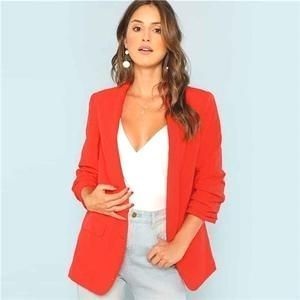 #work  #womenwork  #womanwork  #coat  #womencoat  #womancoat #coats  #blazer  #womenblazer  #womanblazer  #workwear  #dress  #dresses  #interview  #meet  #meeting  #date  #dating  #love  #wome  #girl  #lady  #office  #dinner  #outfit  #casual  #cute  #highheel  #party  #top  #tops  #blouse  #blouses  #jacket  #office  #Leggings  #Legging  #miniskirt  #fashion  #skirt  #legs  #PA #Red #Solid #Workwear  Red Solid Workwear Shawl Collar Women Blazer Office Elegant Women Outwear Coat : Red Solid Work