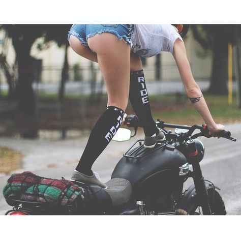 Lady Rider, I know somebody who needs these socks…