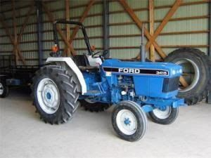 Ford New Holland 3830 3 Cylinder Narrow Orchard Tractor Master