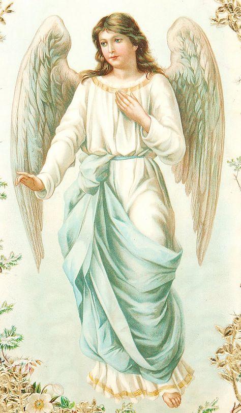 Открытка для ангела хранителя, мне