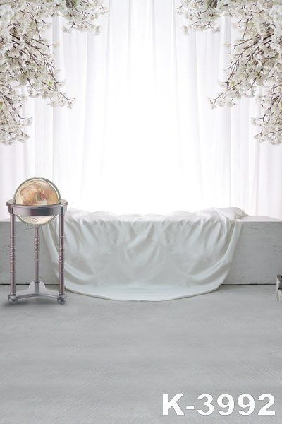 5ftx7ft Newborn Comfortable Bedroom Wedding Marry Background For