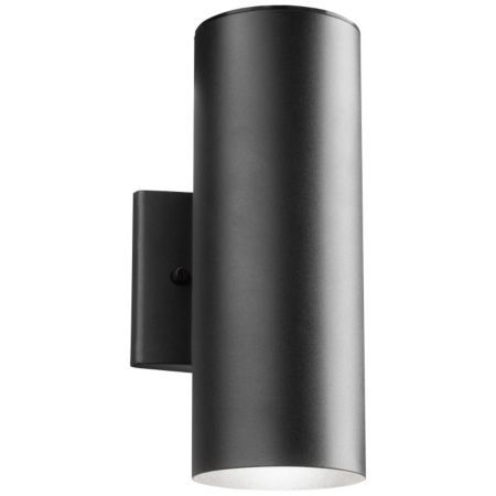 The Sleek Up And Down Led Outdoor Wall Light Features Smooth Lines