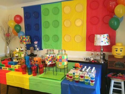 Lego Birthday Party Ideas for Boys,  #Birthday #Boys #Ideas #Lego #legobirthdayparty #Party
