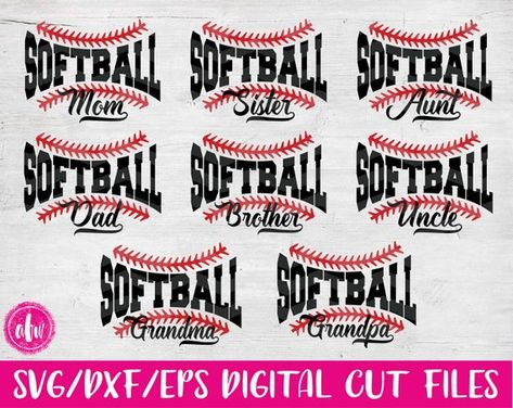 15+ Softball Sister – Svg, Dxf, Eps Cut Files PNG