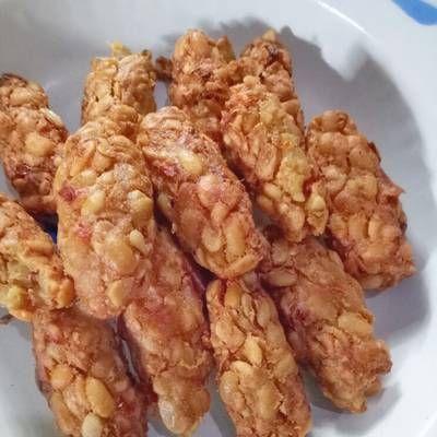 Mendol Menjeng Lentho Perkedel Tempe Makan Siang Makanan Resep