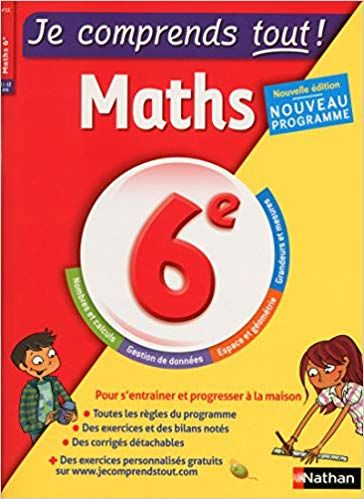 Telecharger Je Comprends Tout Mathematiques 6e Nouveau Programme 2016 Pdf Gratuitement Books This Book Good Books