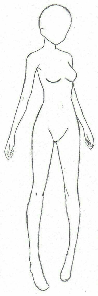 Girl Body Female How To Draw Manga Anime How To Drawings