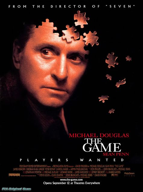 THE GAME - Thriller Movie Posters