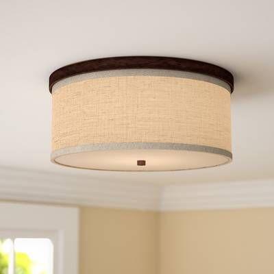 Pin By Linda Gal Endres On Decor In 2020 Light Fixtures Flush Mount Semi Flush Ceiling Lights Wood Flush Mount