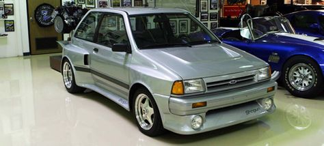 The Ford Festiva V6 Shogun Was Equipped With A 30 Liter Engine Derived From Taurus SHO Mounted Behind Drivers Seat Hot Hatc